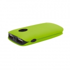 PLATINET POWER BANK 5000mAh 2xUSB GREEN(42413)